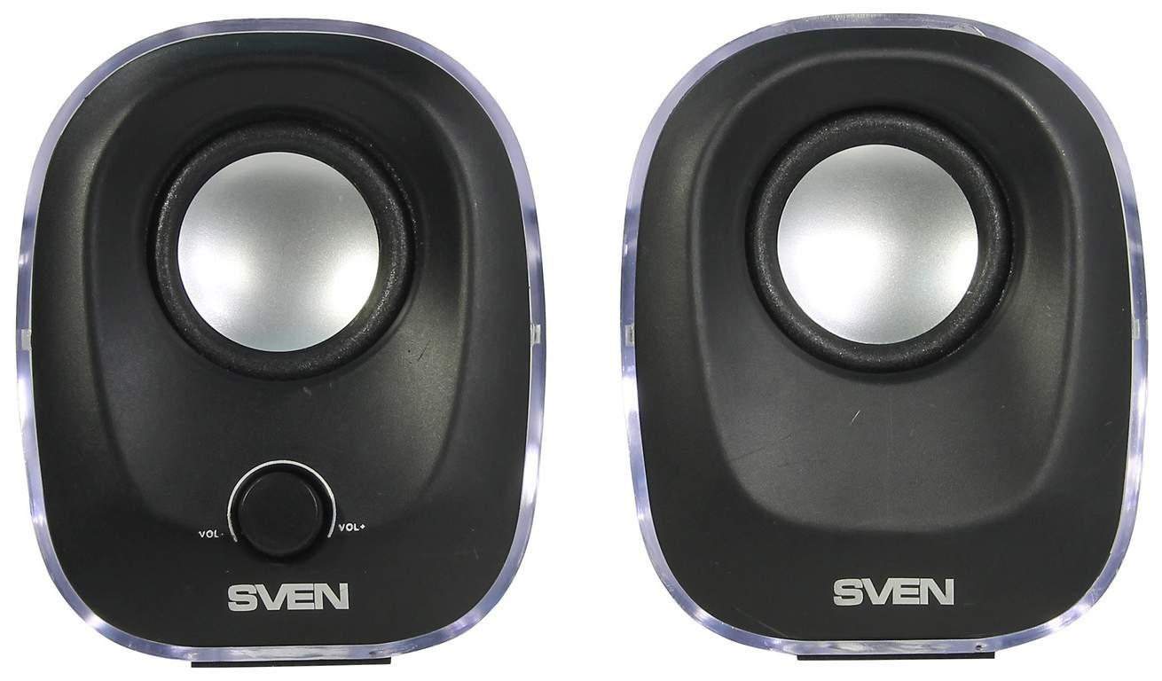 Колонки для компьютера Sven 330 Black