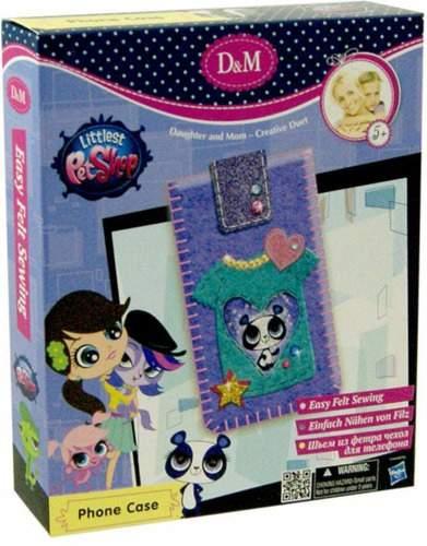 Набор для шитья чехла для телефона DOCHA&MAMA Littlest Pet Shop: Панда Пенни Линг (57354)