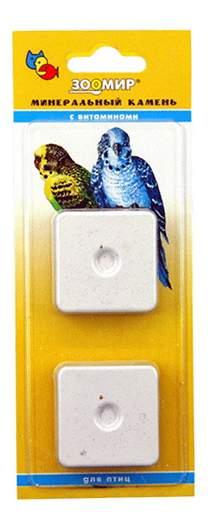 Зоомир Минеральный камень с витаминами для птиц, 2 шт