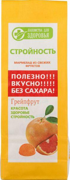 Мармелад желейный Лакомства для здоровья грейпфрут 170 г