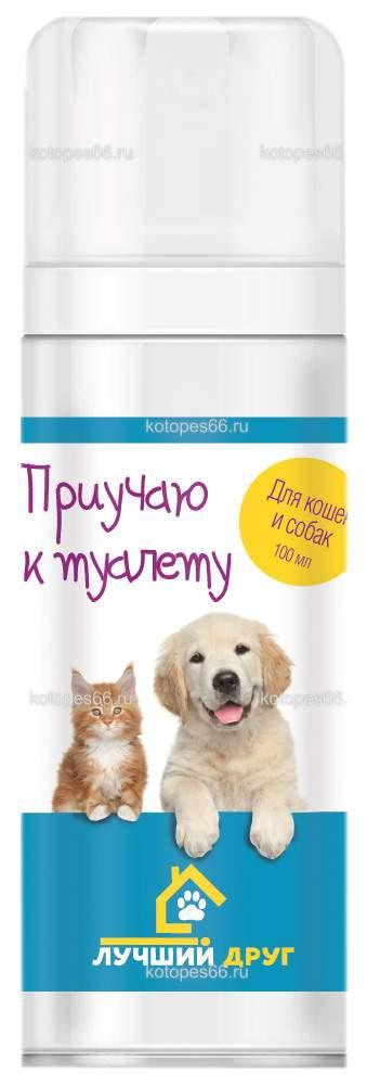 """Лучший Друг спрей """"Приучаю к туалету"""" для кошек и собак, 100мл Api-San"""