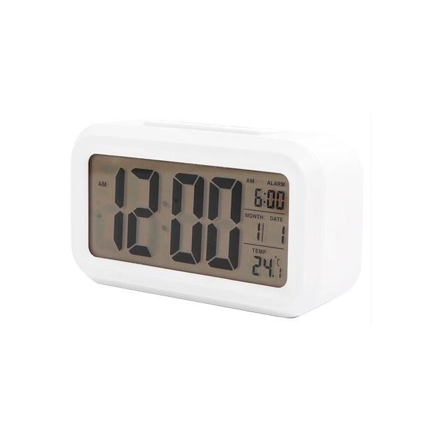 Радио-часы Сигнал EC-137W White