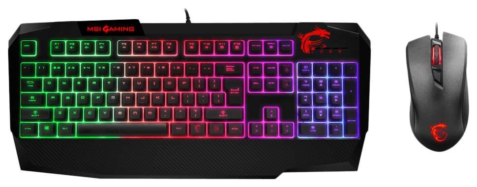 Комплект клавиатура и мышь MSI GK40 Combo