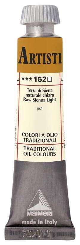 Масляная краска Maimeri Artisti M0102162 земля сиены натуральная светлая 20 мл