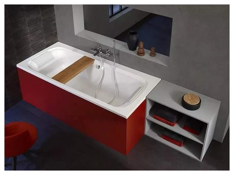 Акриловая ванна Jacob Delafon Elite 180х80 без гидромассажа