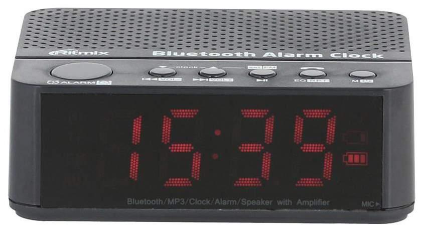 Радио-часы Ritmix RRC-818 Black