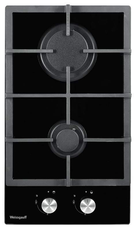 Встраиваемая варочная панель газовая Weissgauff HGG 320 BG Black