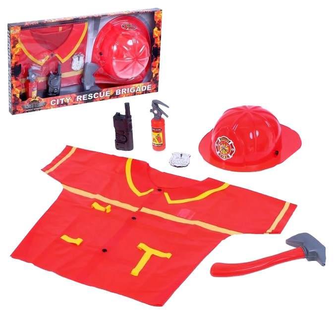 Набор пожарного «Бригада спасателей», 6 предметов Sima-Land