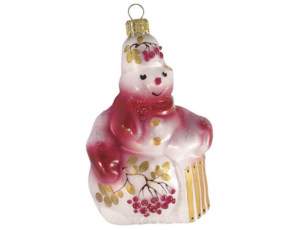 Елочная игрушка Ариэль зимняя ягода 11 см 1 шт 612.2-ариэль