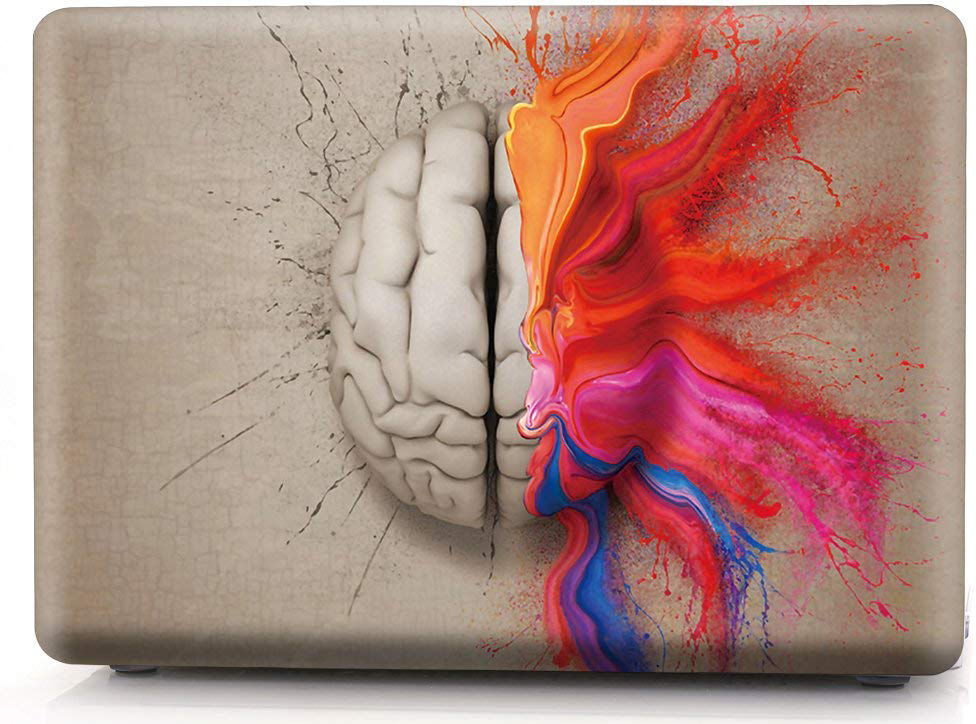 "Чехол для Macbook Pro 15"" i-Blason Cover A1707 water color brain"