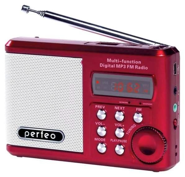 Радиоприемник Perfeo Sound Ranger PF-SV922 Красный