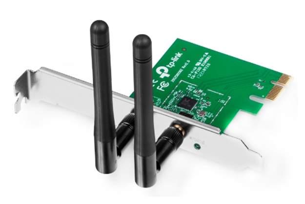 Приемник Wi-Fi TP-Link N300 Green