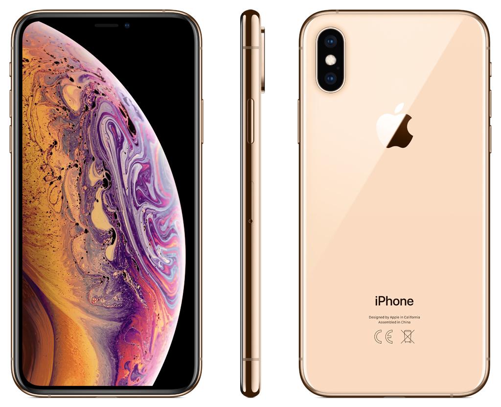 Смартфон Apple iPhone XS 64GB Gold (MT9G2RU/A)