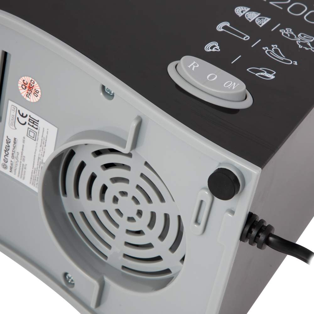 Миниатюра Электромясорубка Endever Sigma-54 Black №6