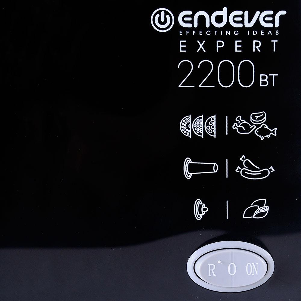 Миниатюра Электромясорубка Endever Sigma-54 Black №9