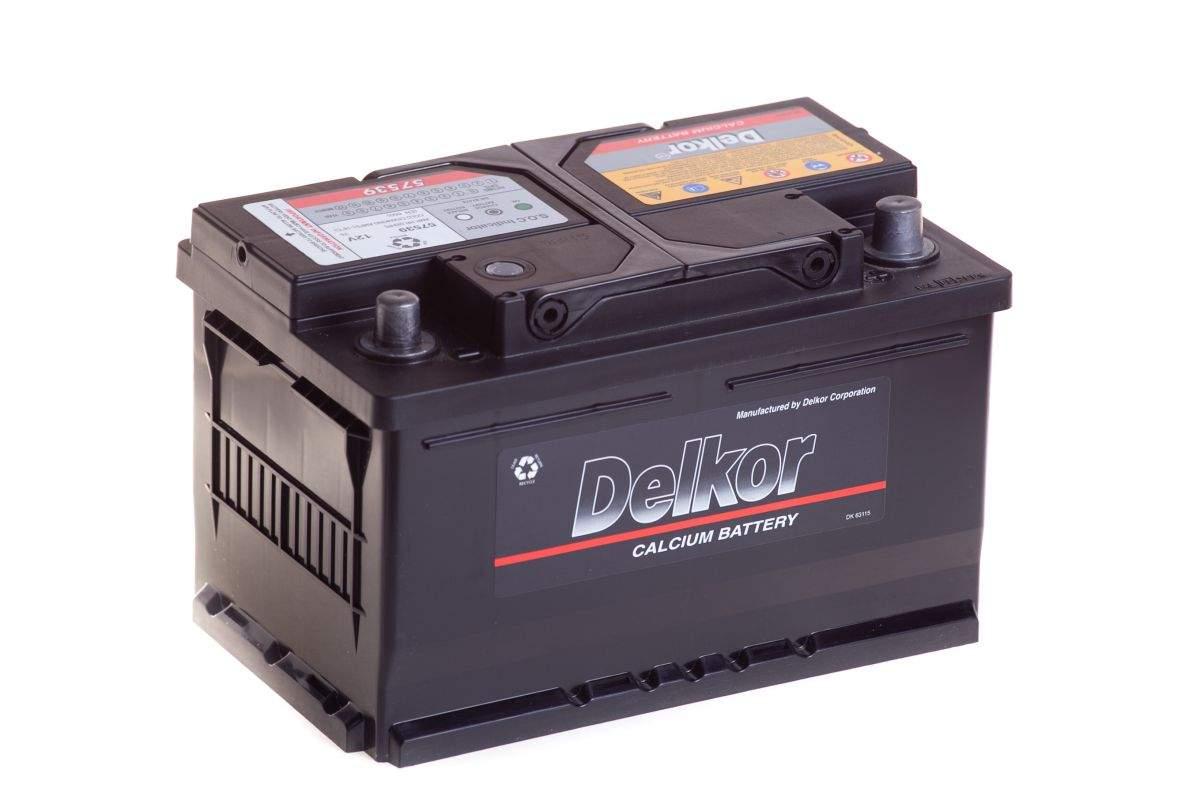Аккумулятор DELKOR 75SR+