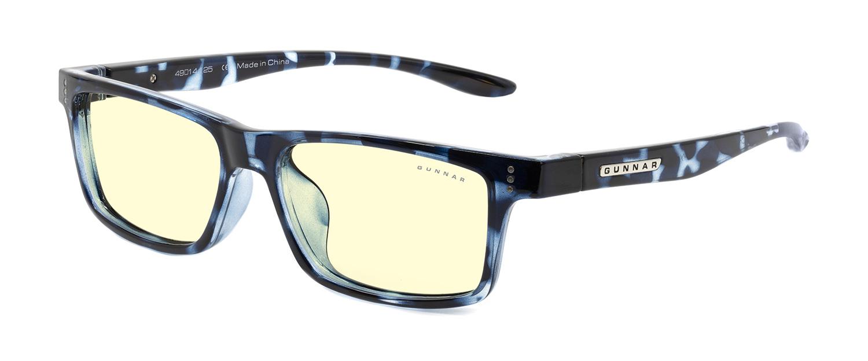 Детские очки для компьютера Gunnar Cruz Kids Large Amber Natural CRU-09701 Navy Tortoise