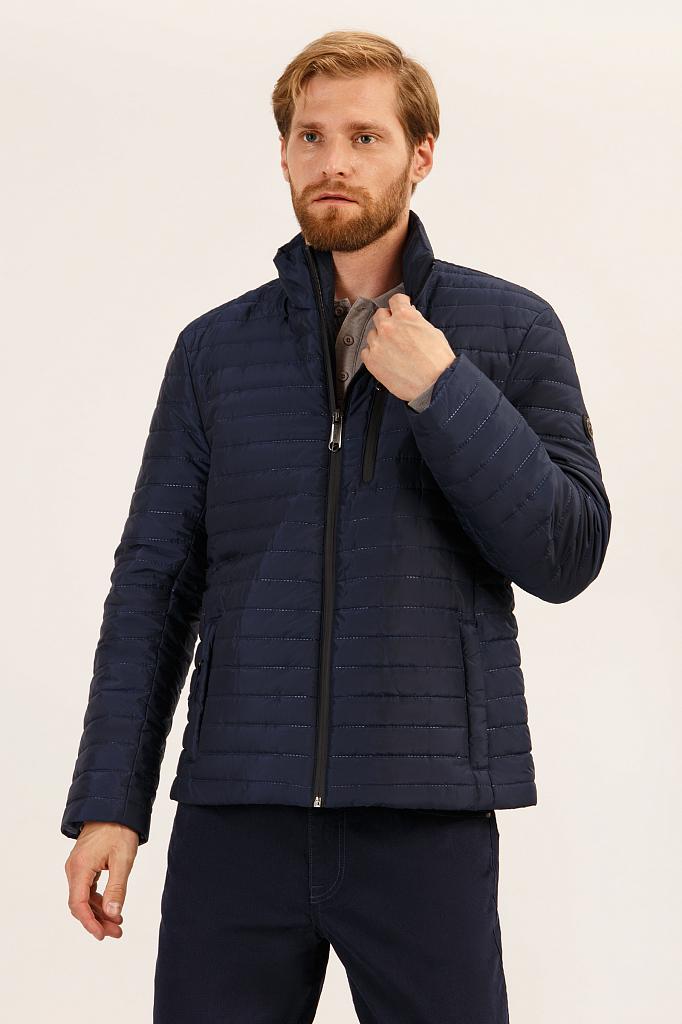 Куртка мужская Finn-Flare A19-21000 синяя 3XL