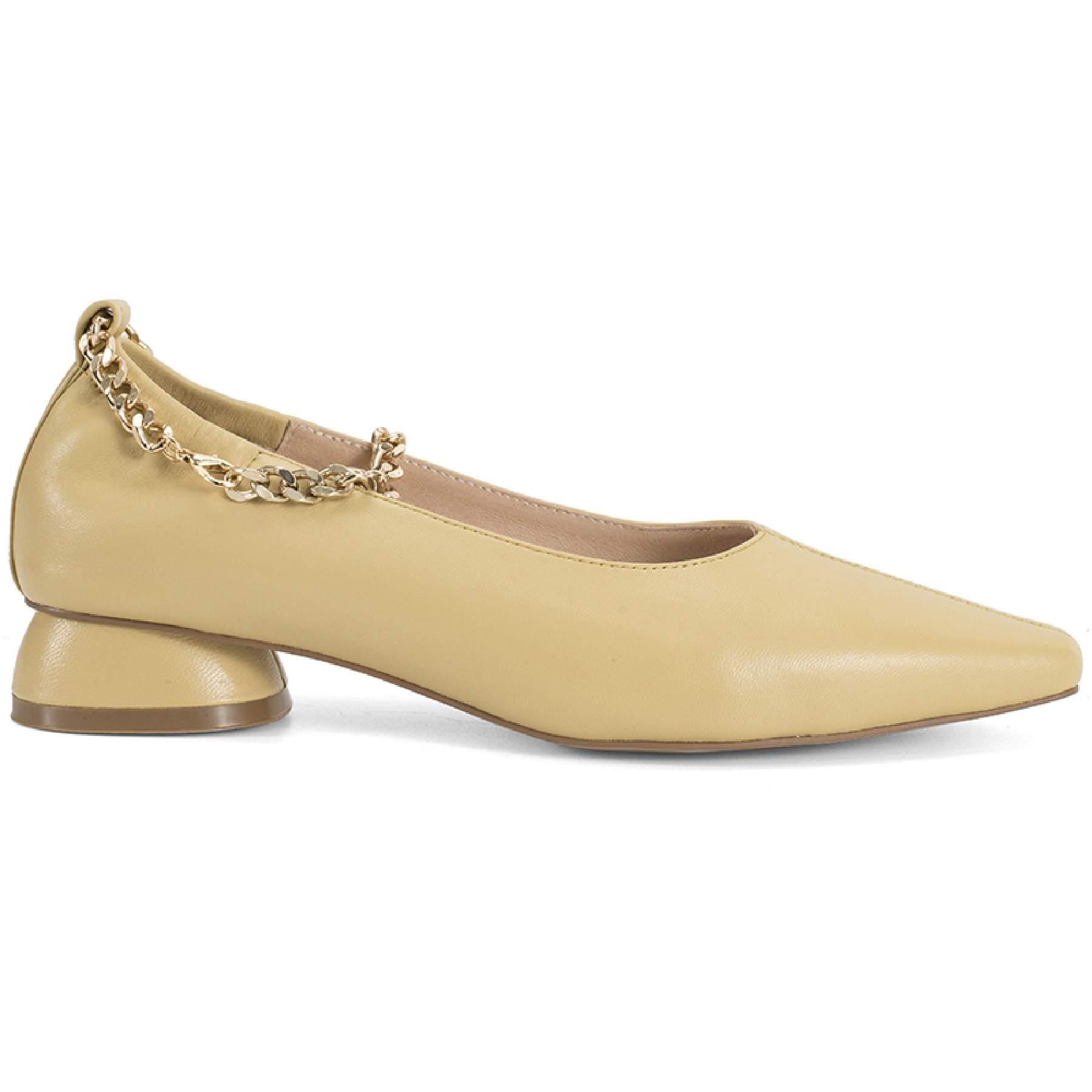 Туфли женские Portal PRL1104-06-21L желтые 35 RU
