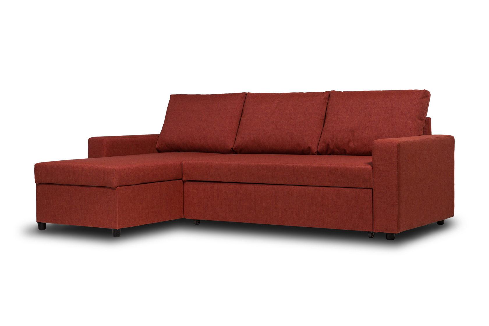 Диван-кровать Divan24 Дуглас, терракотовый