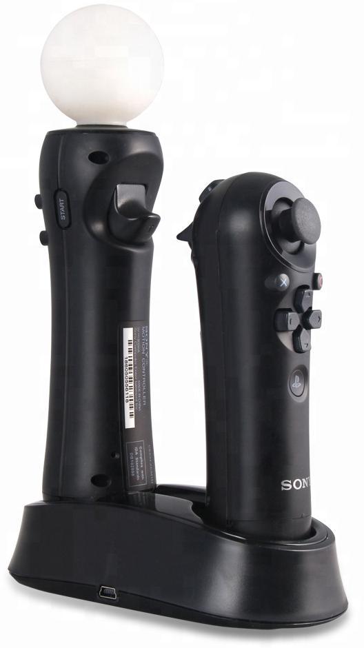 Зарядная станция контроллеров PS Move Сharging Dock Slide DOBE (TP3-382) для PS4 SLIM/PRO)