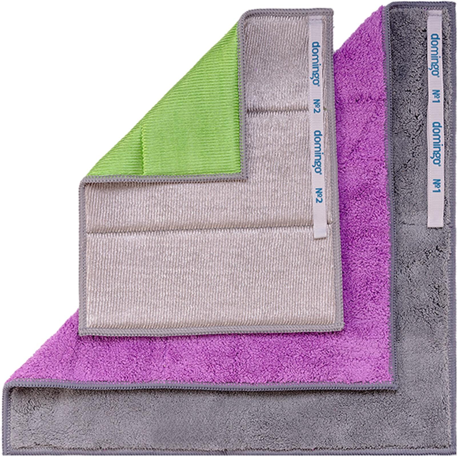 Миниатюра Салфетка для уборки Domingo Виндозер для мытья окон 20x25, 30x35 см 2 шт №2
