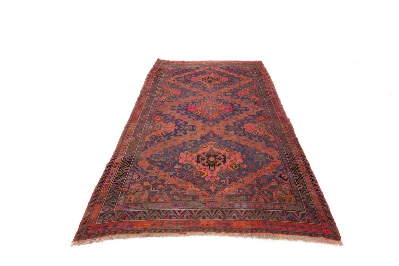 Антикварный Азербайджанский ковер ручной работы Orazbai collection Сумах №7