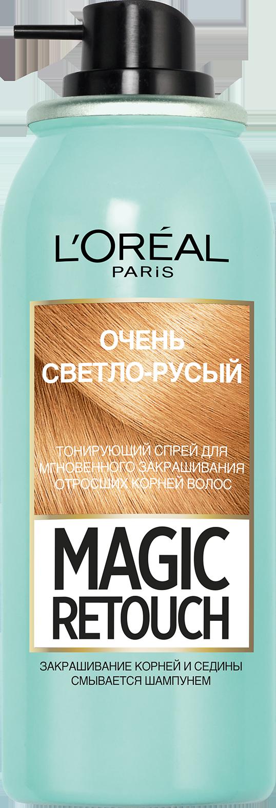 Миниатюра Тонирующий спрей L'Oreal Paris Magic Retouch оттенок очень светло-русый 75 мл №3