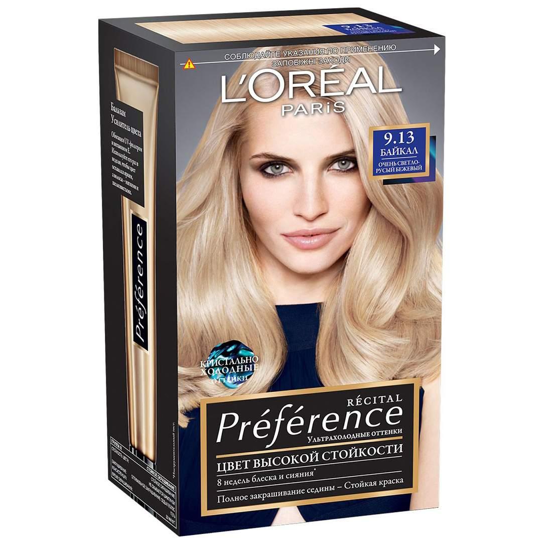 Миниатюра Краска для волос L'Oreal Paris Preference тон 9,13 Байкал 40мл №1