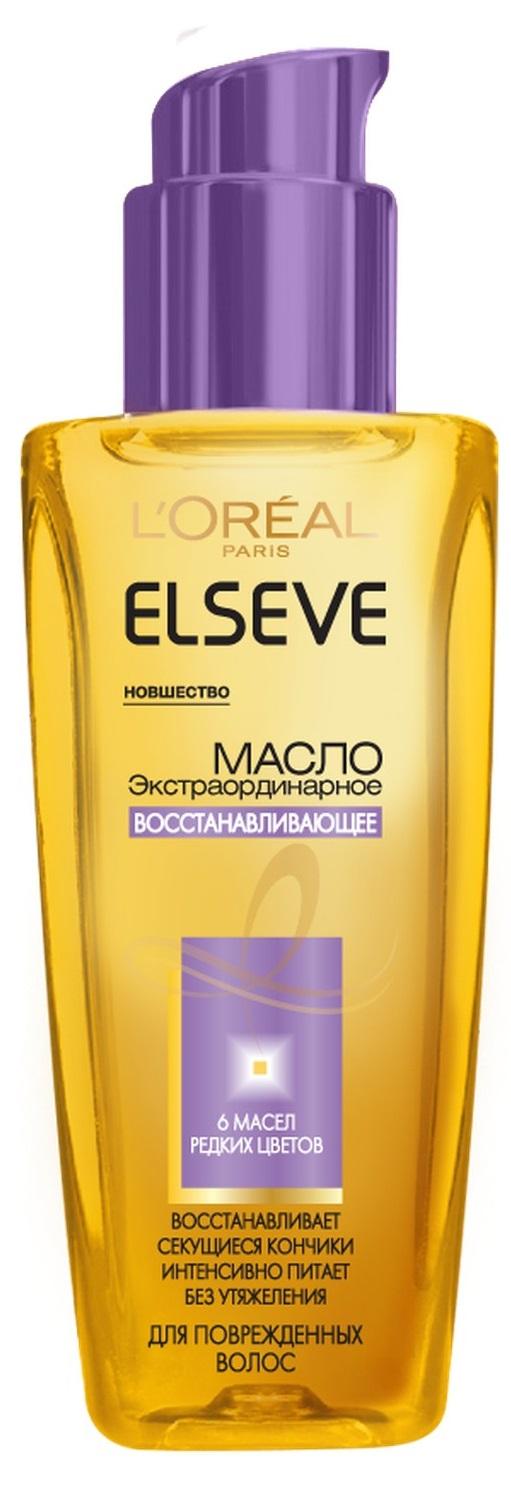 Миниатюра Масло для волос L`Oreal Paris Elseve Экстраординарное восстанавливающее 100 мл №1