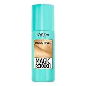 Миниатюра Спрей для волос L'Oreal Paris MAGIC RETOUCH 5 Светло Русый Тонирующий №1