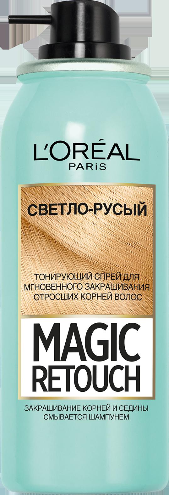 Миниатюра Спрей для волос L'Oreal Paris MAGIC RETOUCH 5 Светло Русый Тонирующий №4