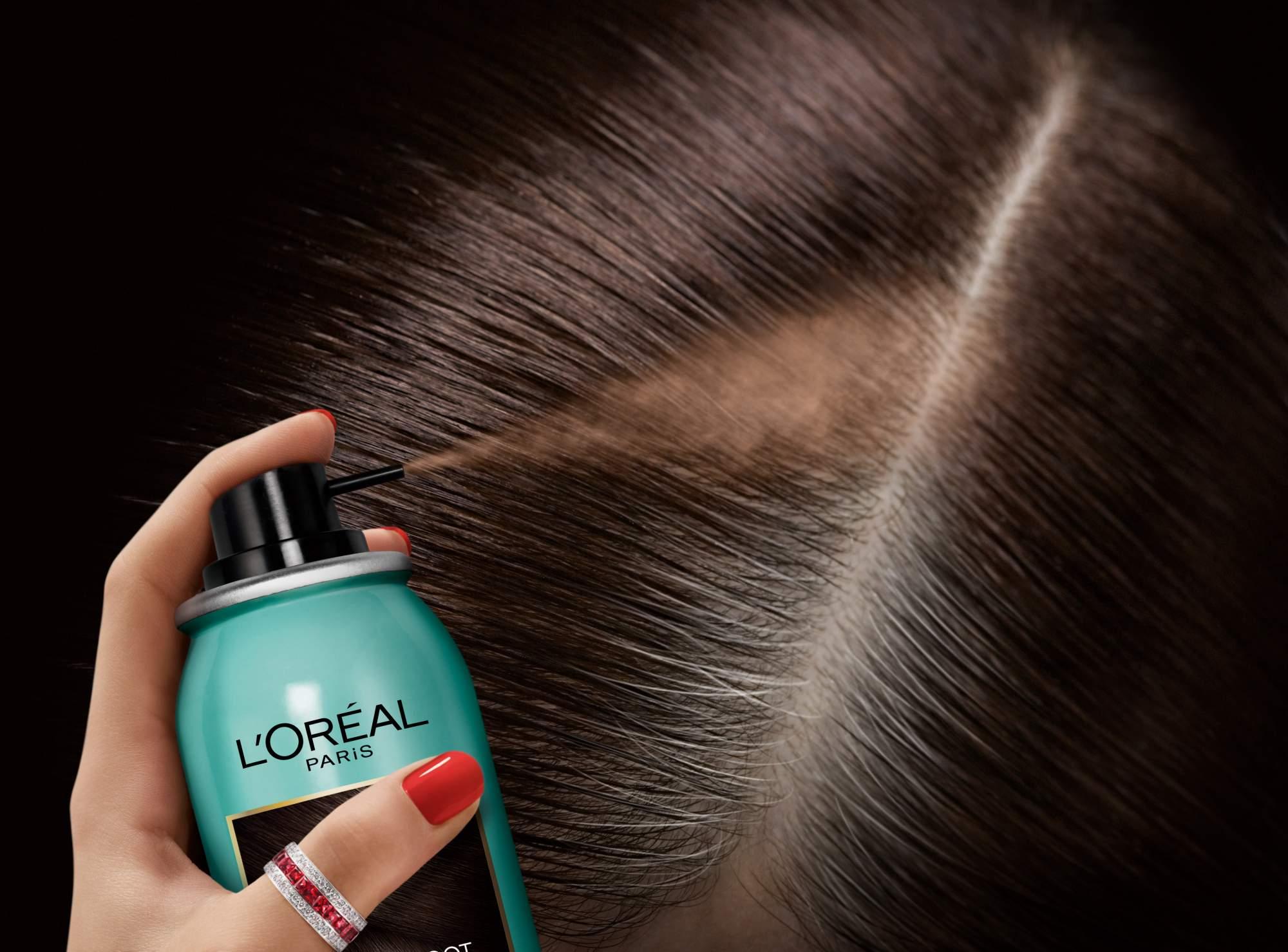 Миниатюра Спрей для волос L'Oreal Paris MAGIC RETOUCH 5 Светло Русый Тонирующий №8