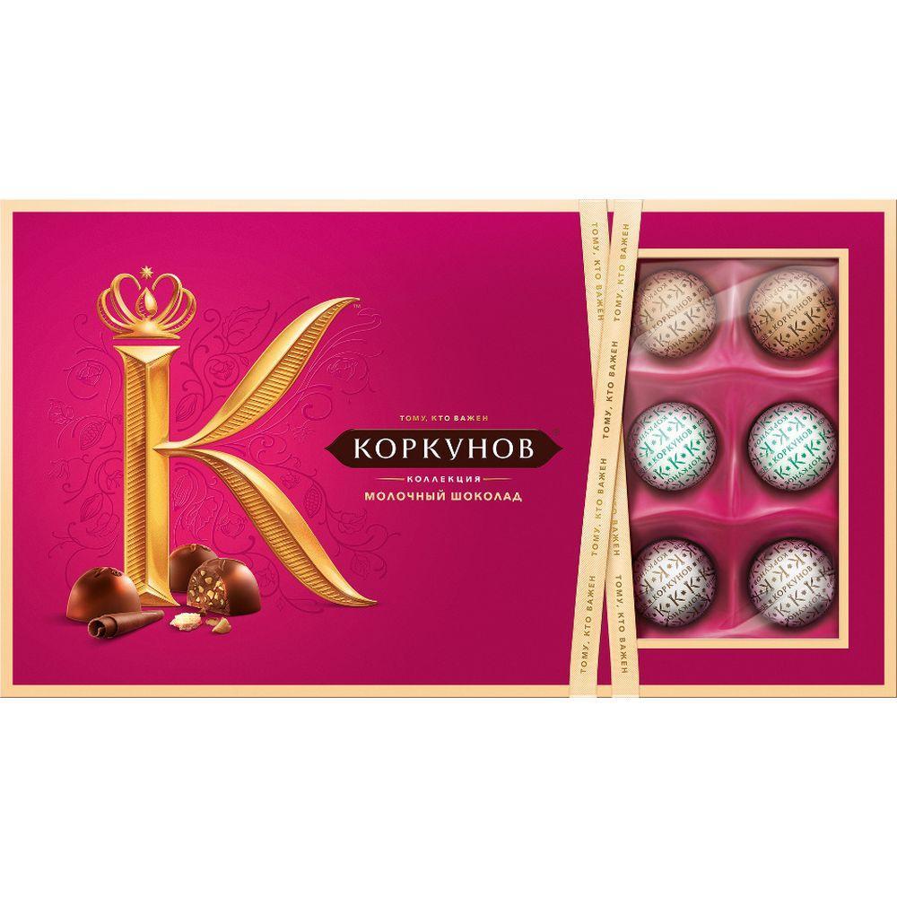 Миниатюра Набор конфет Коркунов ассорти молочный шоколад 192 г №1