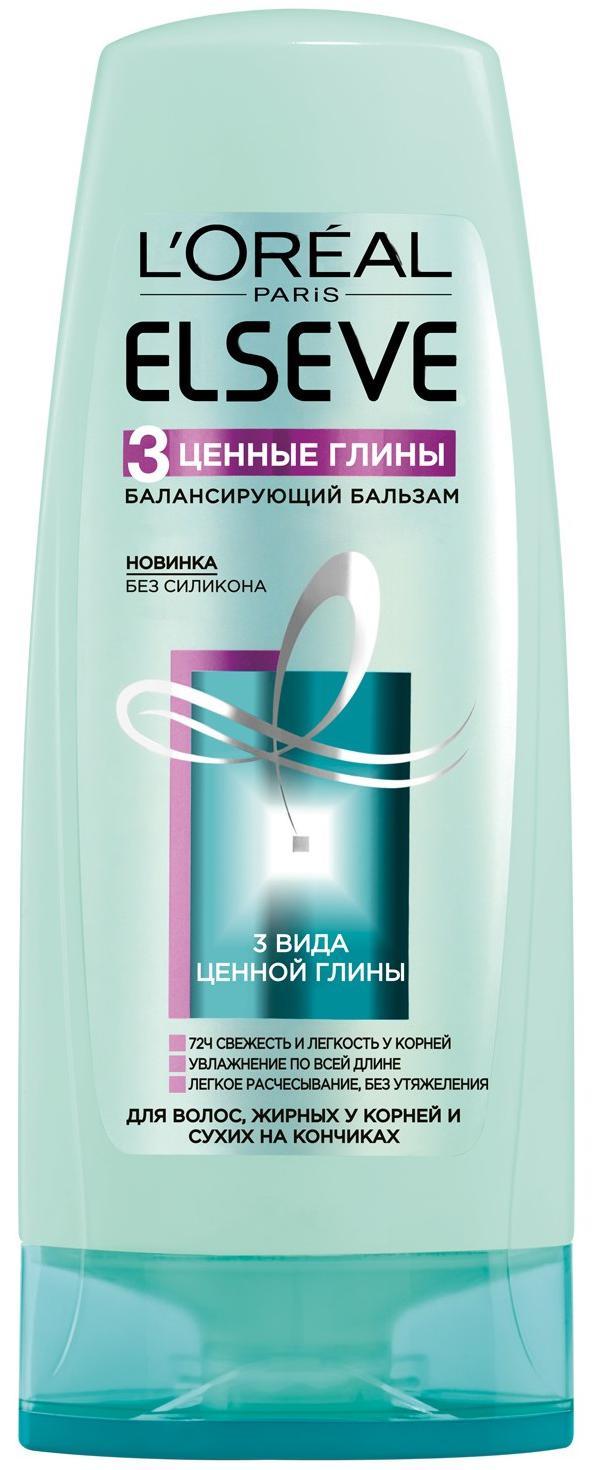 Миниатюра Бальзам для волос L'Oreal Paris Elseve 3 Ценные глины 400 мл №1