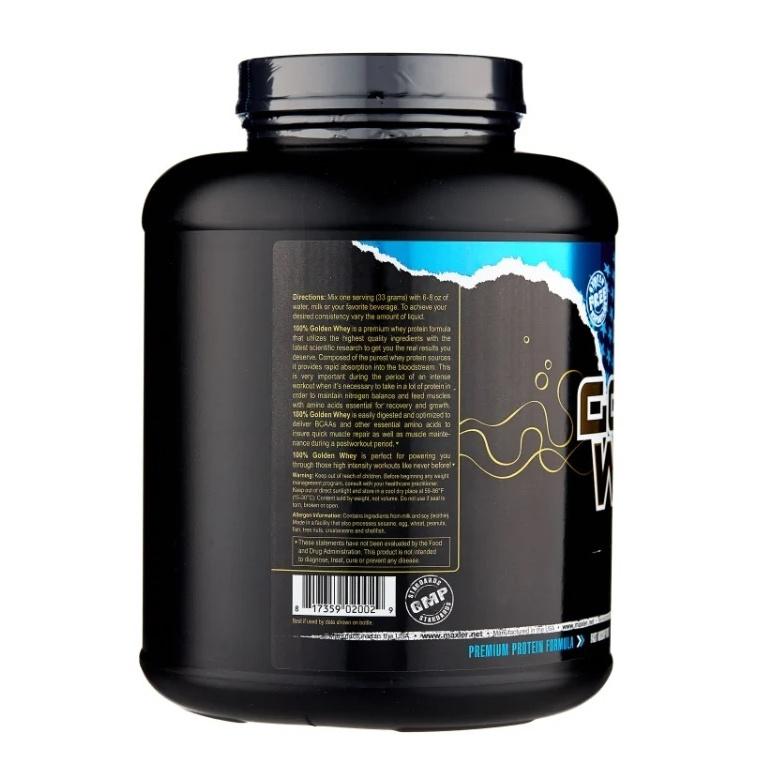 Протеин Maxler 100% Golden Whey 2270 г Vanilla Ice-Cream