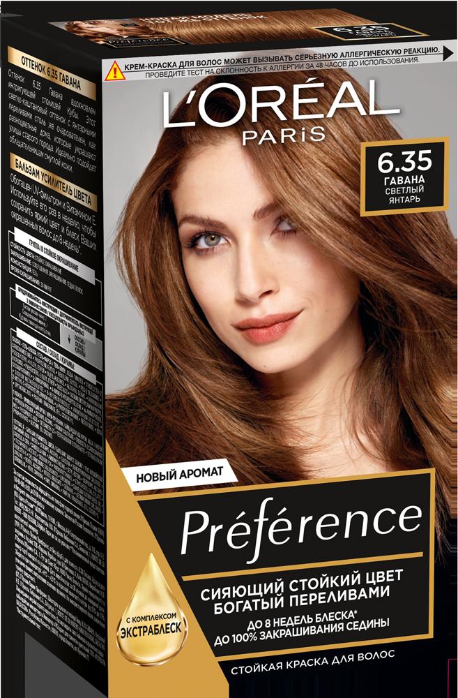 Миниатюра Краска для волос L'Oreal Paris Preference оттенок 6,35 Гавана №1