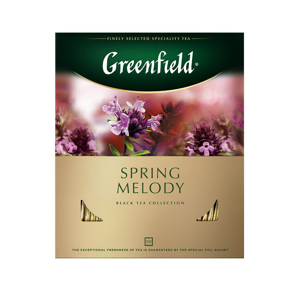 Чай черный Greenfield Spring Melody 100 пакетиков