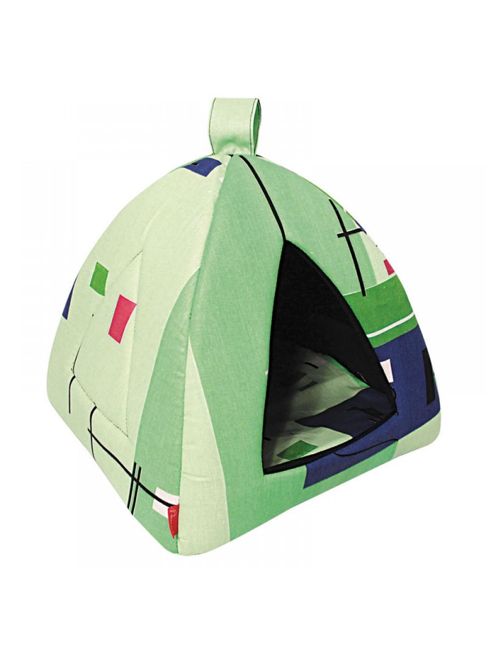 Домик для кошек и собак Gamma Вигвам, в ассортименте, 37x37x34см