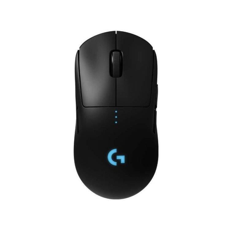 Миниатюра Беспроводная игровая мышь Logitech G PRO Black (910-005272) №1