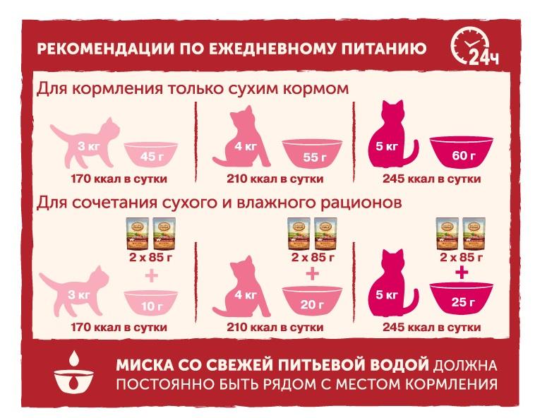 Миниатюра Влажный корм для кошек Nature's Table Курица в соусе, 24 шт по 85г №5