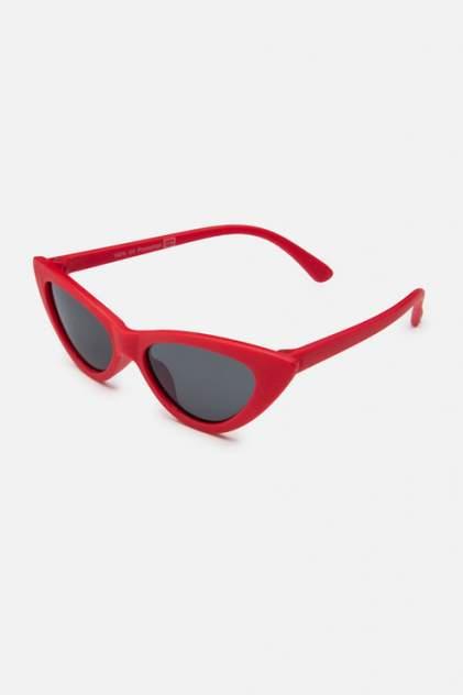 Солнцезащитные очки для девочек PlayToday, цв. красный