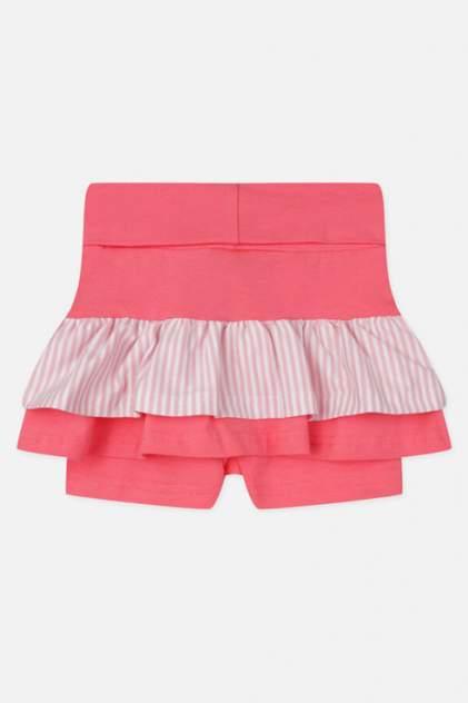 Юбка-шорты для девочек PlayToday, цв. розовый р.86