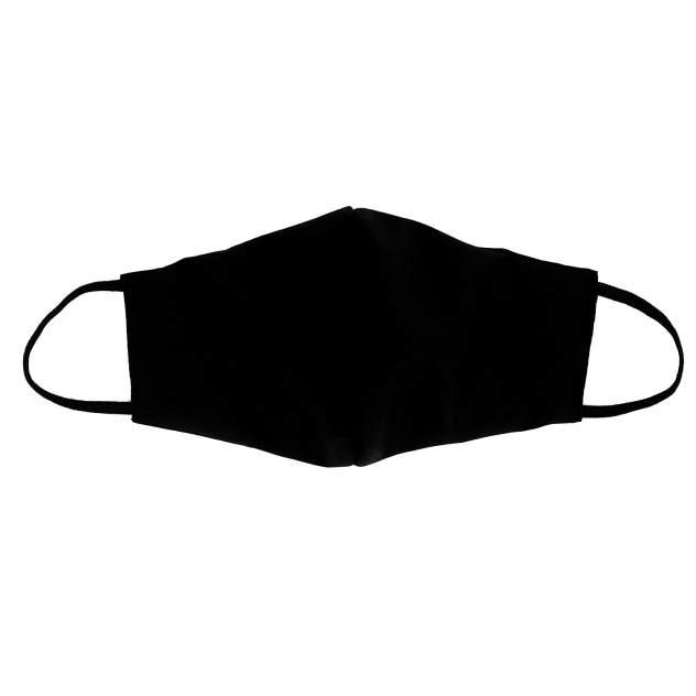 Многоразовая защитная маска Kawaii Factory KW079-000158 черная 1 шт.