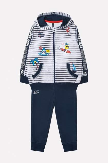 Спортивный костюм для мальчиков Crockid, цв. синий р.68
