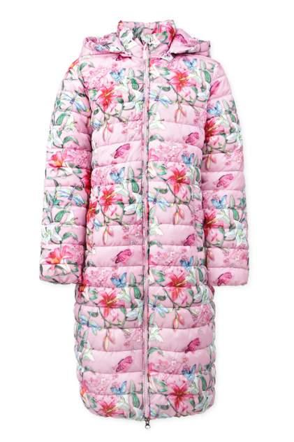Пальто для девочек PlayToday, цв. розовый р.146