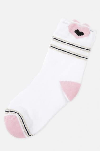 Носки детские 2 пары Play Today, цв. розовый; белый р.18