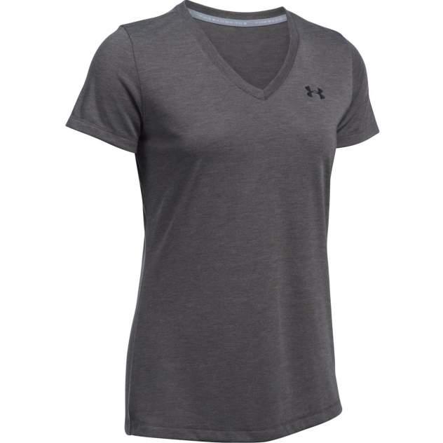 Спортивная футболка Under Armour Threadborne Train V-Neck SS, серый