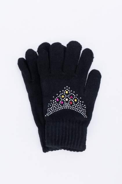 Перчатки для девочек Мария, цв. черный р.13-14