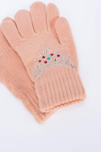 Перчатки для девочек Мария, цв. бежевый р.13-14